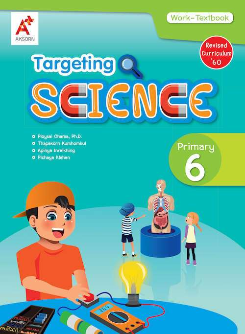 Targeting Science Work-Textbook Primary P.6