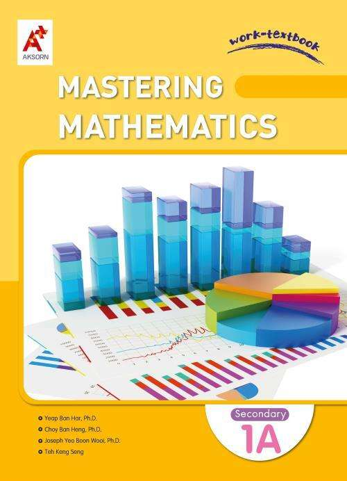 Mastering Mathematics Work-Textbook Secondary 1A