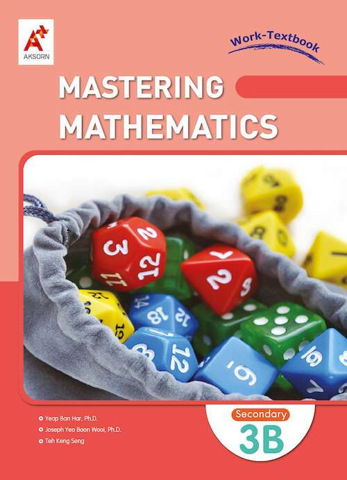 Mastering Mathematics Work-Textbook Secondary 3B