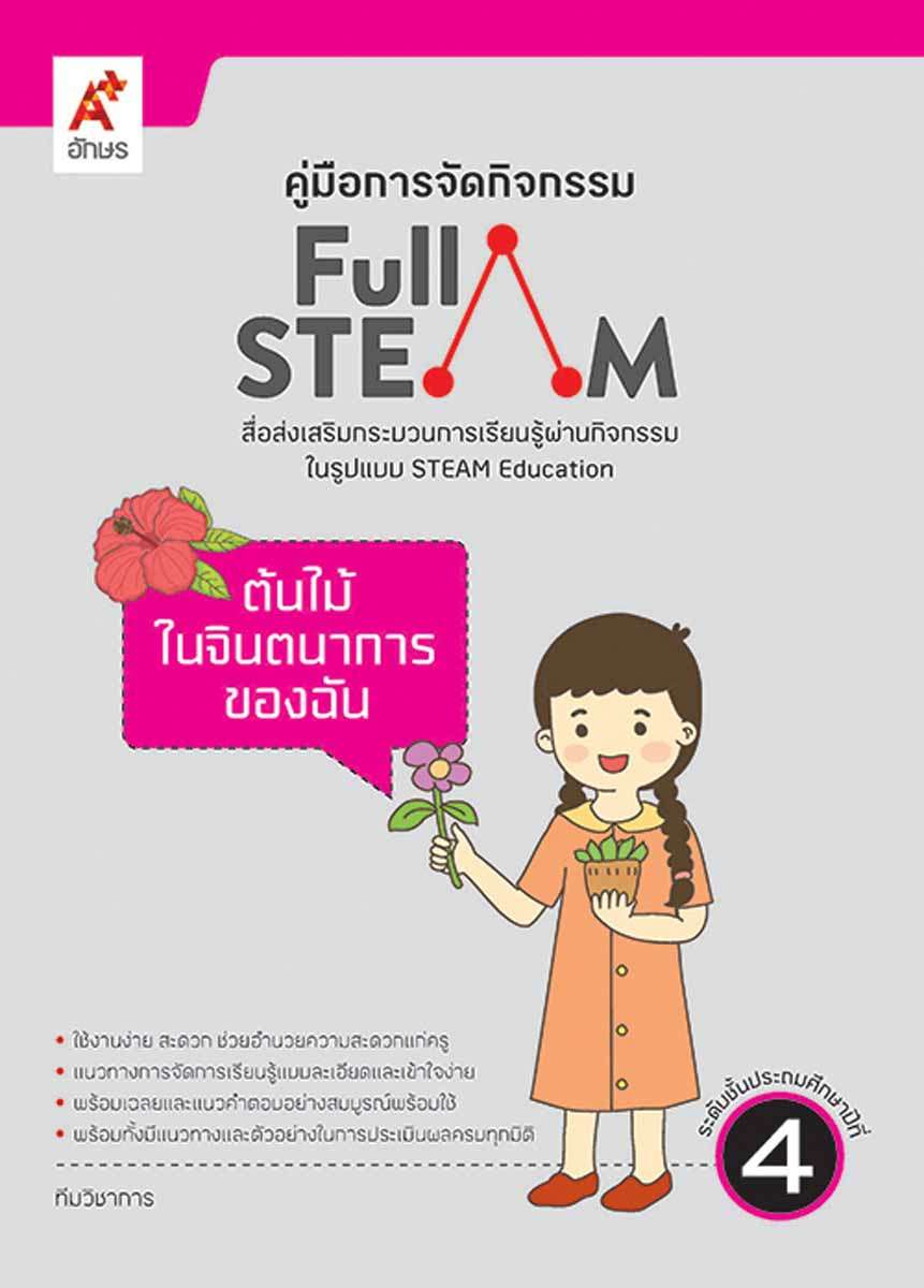คู่มือการจัดกิจกรรมสื่อ FULL STEAM ป.4 เล่ม 1