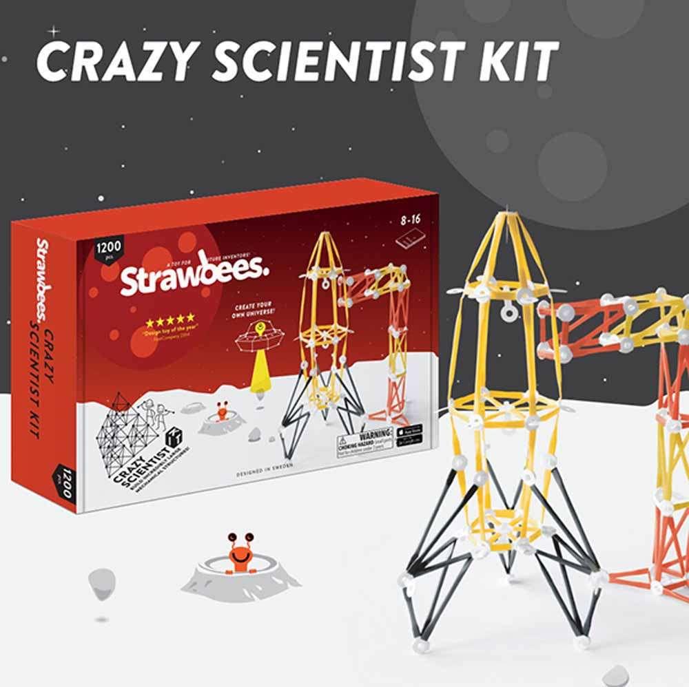 Crazy Scientist Kit ชุดสื่อฯ ฝึกทักษะกระบวนการด้านการออกแบบและเทคโนโลยี