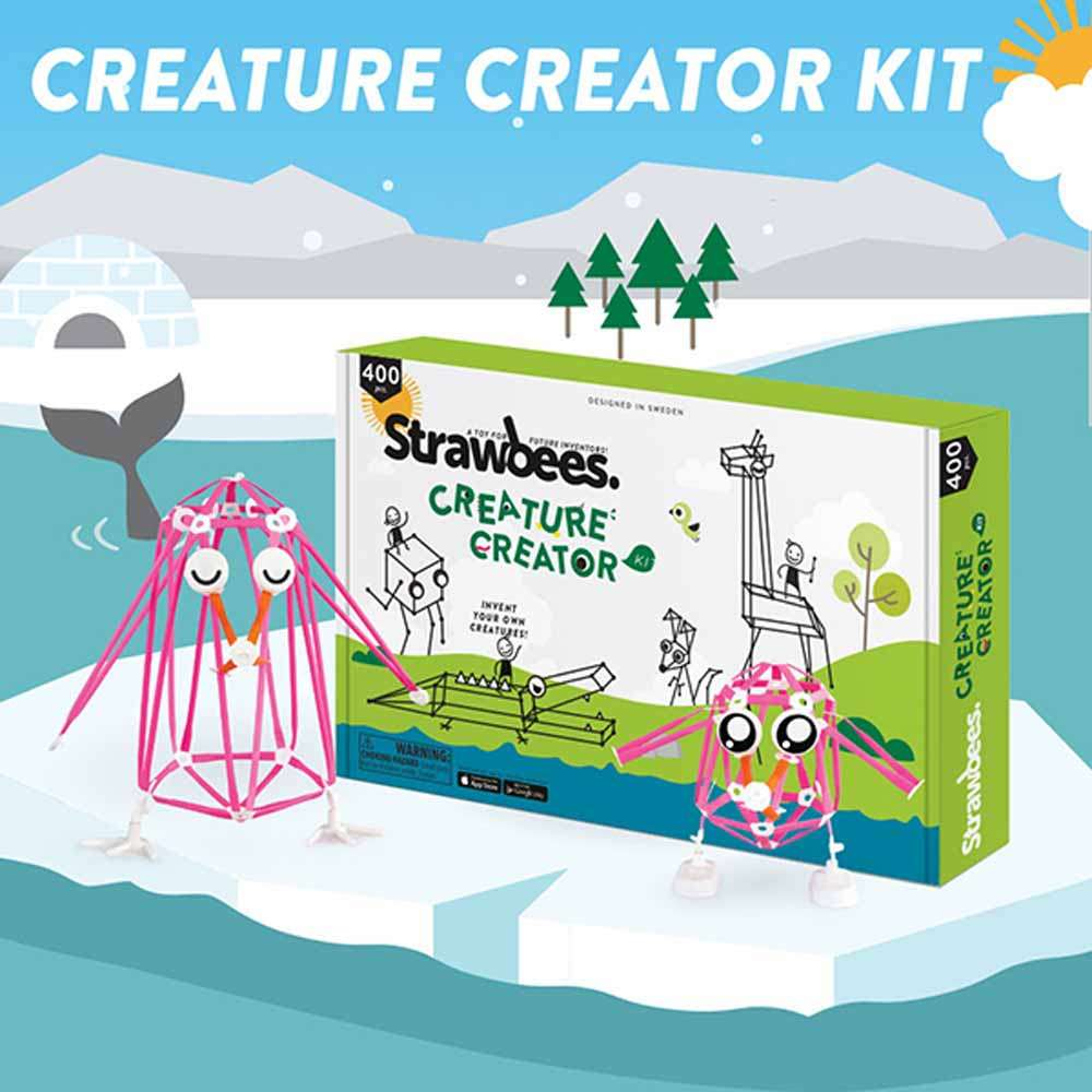 Creature Creator Kit ชุดสื่อฯ ฝึกทักษะกระบวนการด้านการออกแบบและเทคโนโลยี
