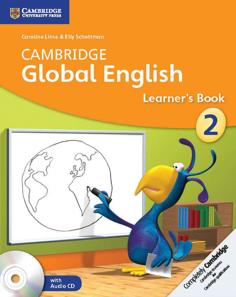 Cambridge Global English Stage 2 Learner's Book with Audio CD