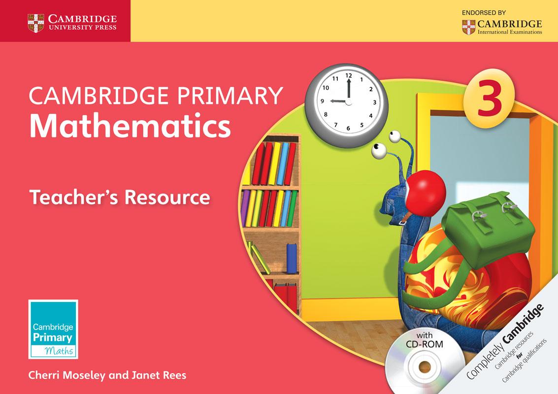 Cambridge Primary Mathematics Stage 3 Teacher's Resource with CD-ROM