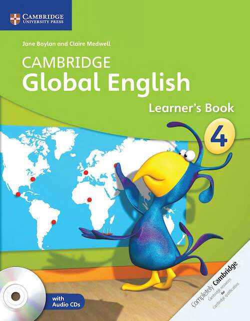 Cambridge Global English Stage 4 Learner's Book with Audio CD