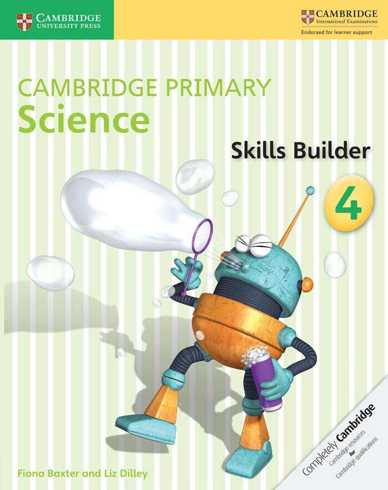 Cambridge Primary Science Skills Builder Activity Book 4