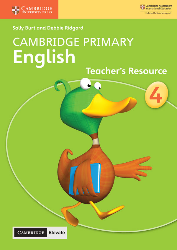Cambridge Primary English Teacher's Resource with Cambridge Elevate Book 4