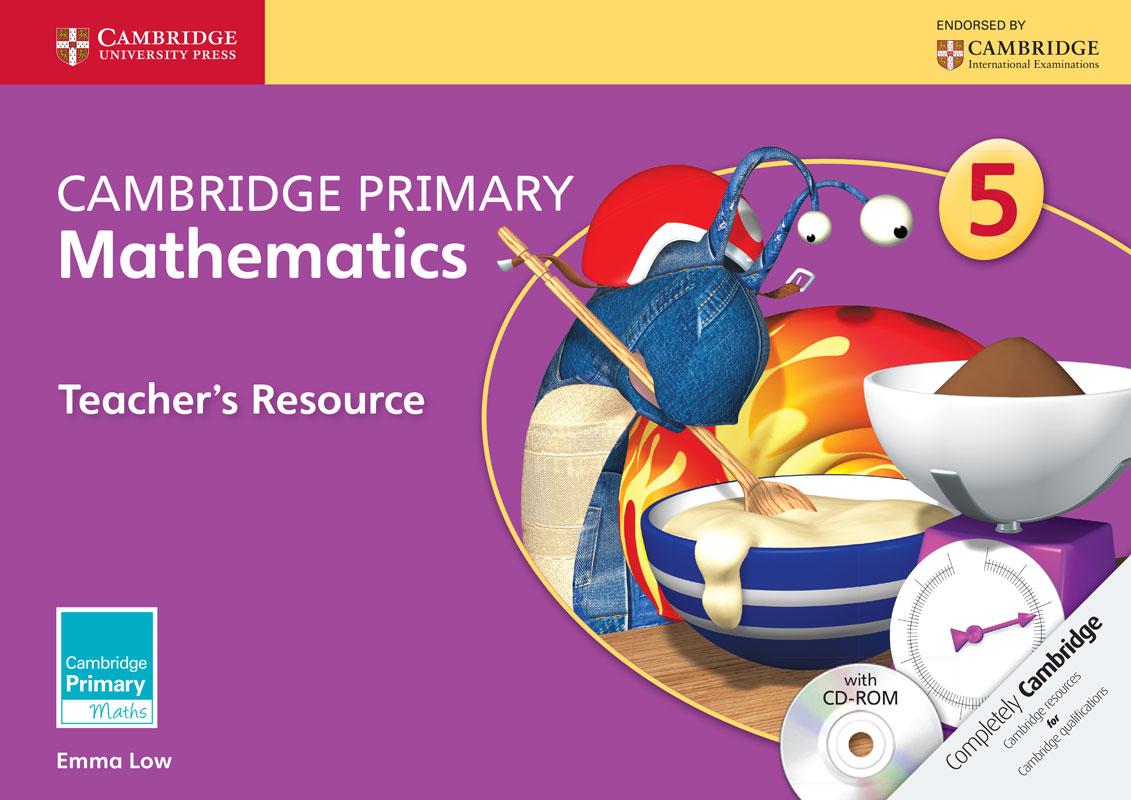 Cambridge Primary Mathematics Stage 5 Teacher's Resource with CD-ROM