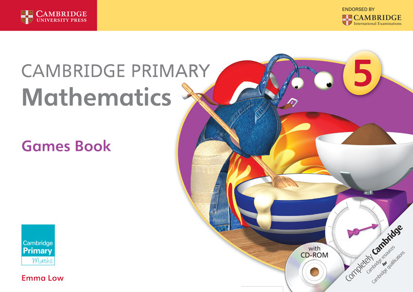 Cambridge Primary Mathematics Stage 5 Games Book with CD-ROM