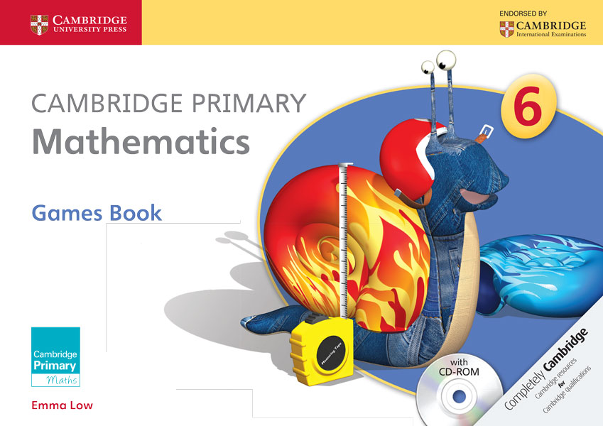 Cambridge Primary Mathematics Stage 6 Games Book with CD-ROM