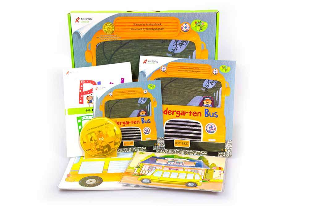 Growing Up 1 : 1-6 Kindergarten Bus