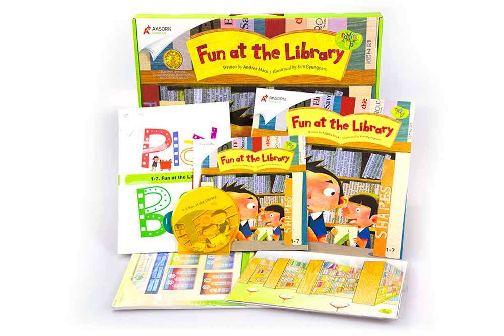 Growing Up 1 : 1-7 Fun at the Library