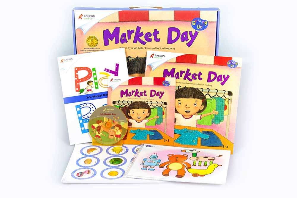 Growing Up 3 : 3-3 Market Day