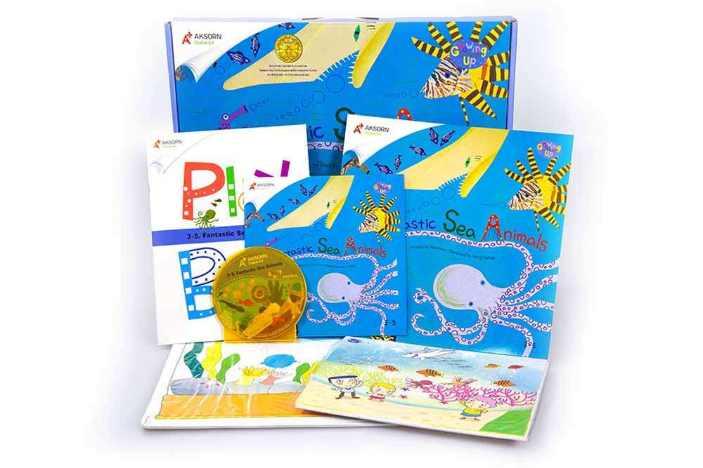 Growing Up 3 : 3-5 Fantastic Sea Animals