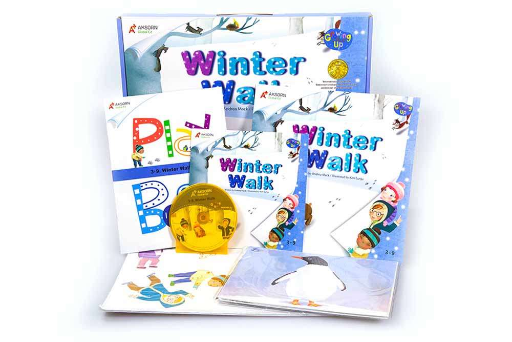 Growing Up 3 : 3-9 Winter Walk