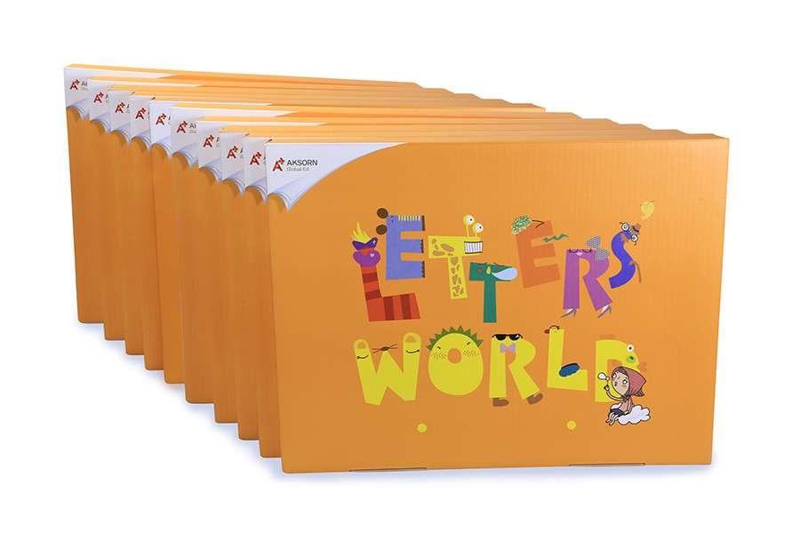 ชุด Letters' World ระดับ 2 (นักเรียน) : Consonants and Vowels