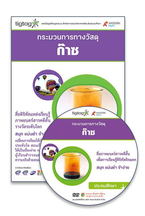 DVD-Rom Tigtag ก๊าซ