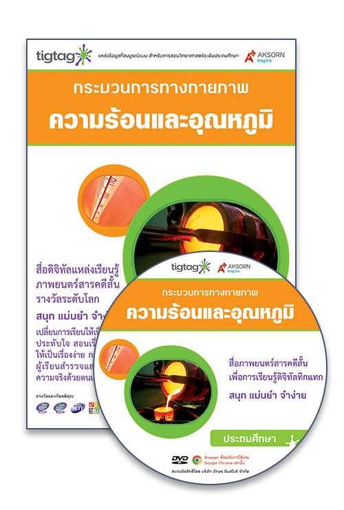 DVD-Rom Tigtag ความร้อนและอุณหภูมิ