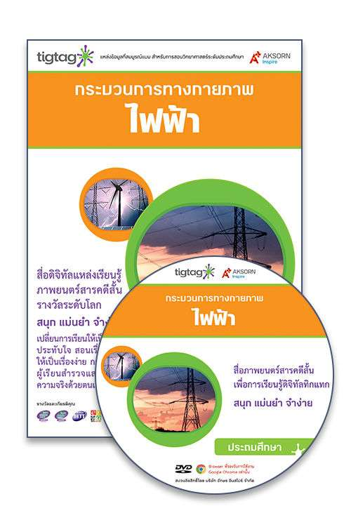 DVD-Rom Tigtag ไฟฟ้า