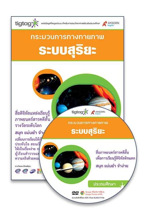 DVD-Rom Tigtag ระบบสุริยะ