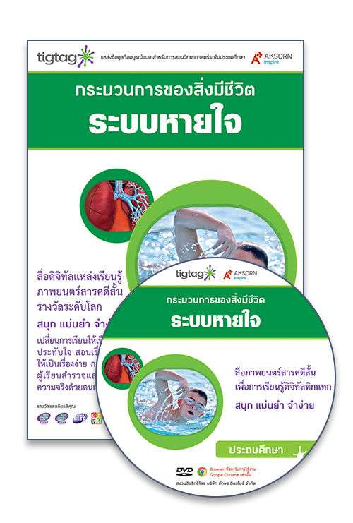 DVD-Rom Tigtag ระบบหายใจ