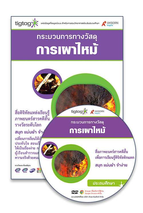 DVD-Rom Tigtag การเผาไหม้