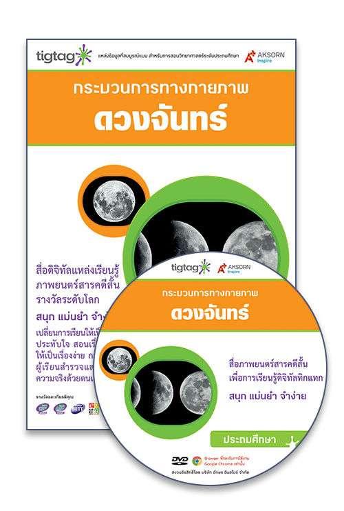 DVD-Rom Tigtag ดวงจันทร์