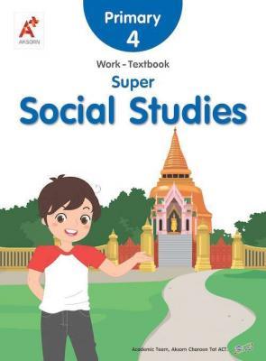 Super Social Studies Work-Textbook Primary 4