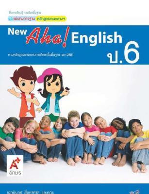 สื่อฯ แม่บทมาตรฐาน New Aha! English ป.6