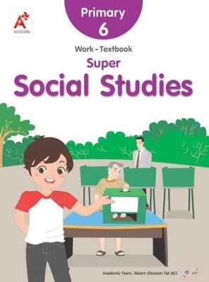 Super Social Studies Work-Textbook Primary 6