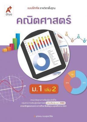 แบบฝึกหัด รายวิชาพื้นฐาน คณิตศาสตร์ ม.1 เล่ม 2