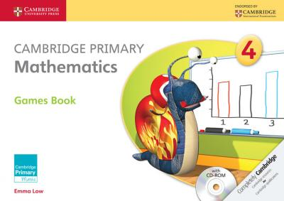 Cambridge Primary Mathematics Stage 4 Games Book with CD-ROM