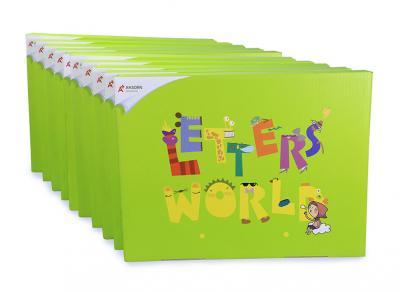 ชุด Letters' World ระดับ 1 : Alphabet Letters